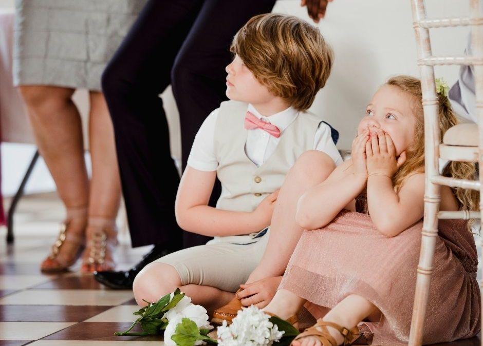 Come intrattenere i bambini ad un matrimonio: idee divertenti per i più piccoli a Villa Strampelli
